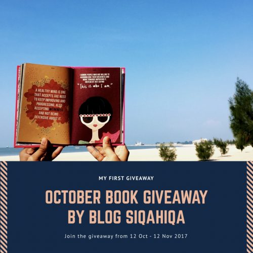 OCTOBER BOOK GIVEAWAY BY BLOG SIQAHIQA